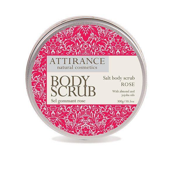 Attirance Rose Salt Body Scrub | RenewAlliance