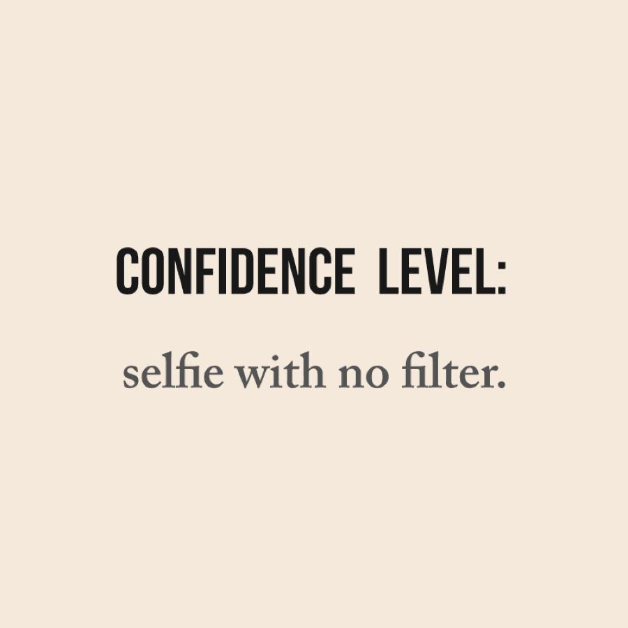 Confidence Level: selfie with no filter | RenewAlliance dba TautUSA