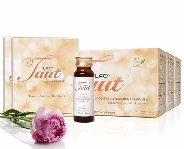 Taut® Premium Collagen Supplement Drink- Intense Transformation + Brightening   RenewAlliance