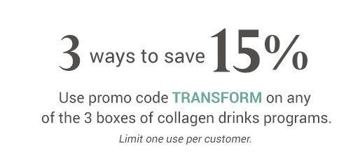 Save 15% Now!