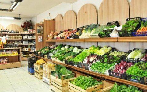 Vendita verdura fresca