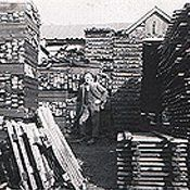 Abraham Shaw in the factory