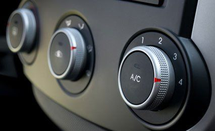 AC adjusting knobs