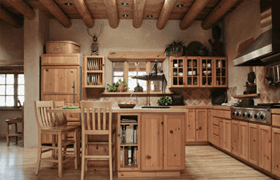 Joinery work in a kitchen