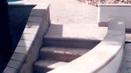 scala esterna in pietra