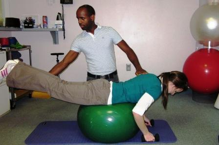 core strengthening exercise
