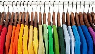 coloured T shirts
