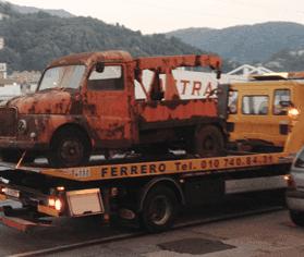 Recupero auto incidentate