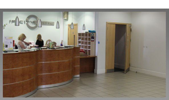 Live in care - Ipswich - Frantec - reception area