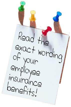 Find employee benefits offered by your employer