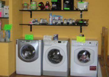 esposizione di lavatrici