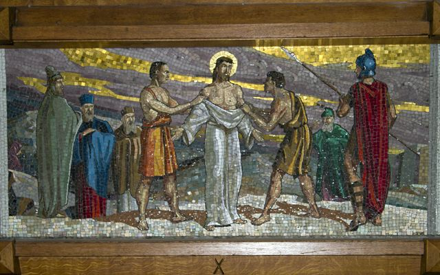 Picture of Tenth Station: Jesus is Stripped
