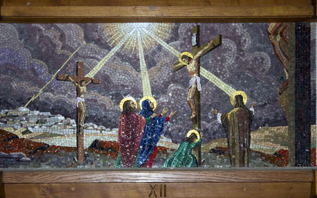 Picture of Twelfth Station: Jesus Dies on the Cross