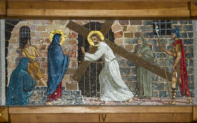 Picture of Fourth Station: Jesus Meets His Mother