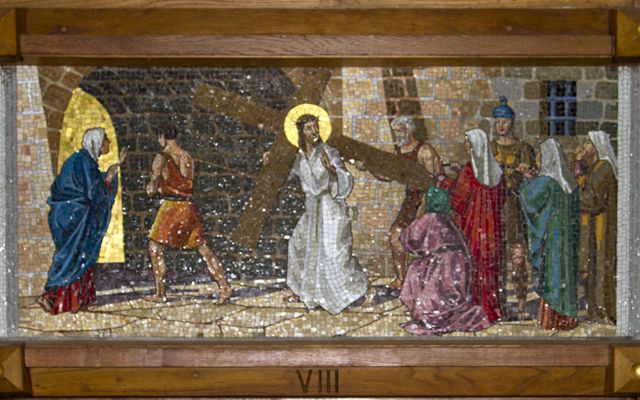Picture of Eight Station: Jesus Meets the Women of Jerusalem