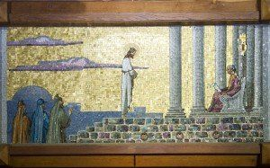 Picture of First Station: Jesus is condemned to death