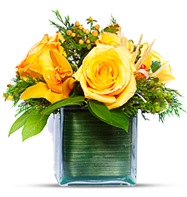 yellow flower bouquet