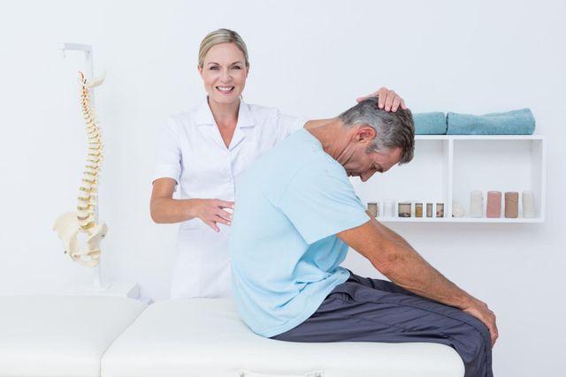 massaggio alla scapola