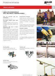 Sistema Ancoraggio MULTIRAIL Soll Honeywell Miller INOX