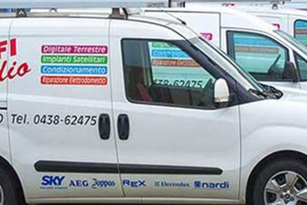 Le nostre furgoni di lavoro