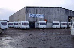 For caravan servicing in Dingwall call MacLeods Caravans