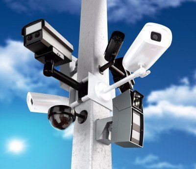 Security Camera System Installation Voice And Data Cabling