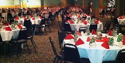 Holiday Party Banquet Reception - Weston Lanes