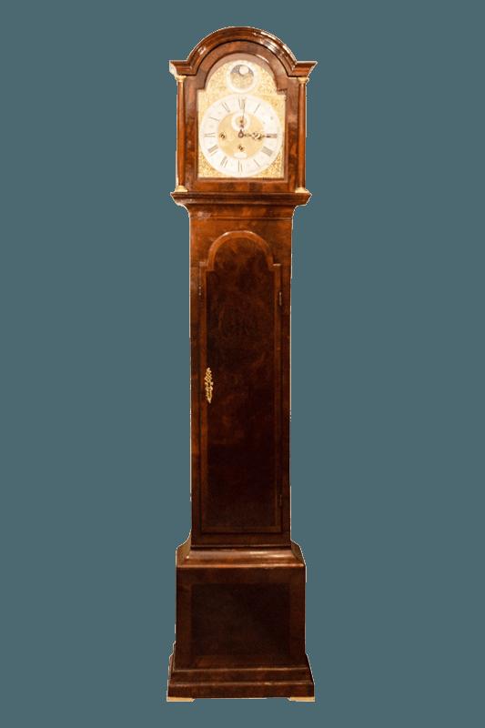 antique clock long case