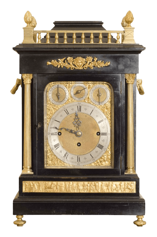 grandfather clock png. small antique clock grandfather png