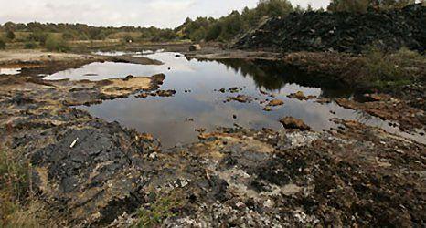 Contaminated soils