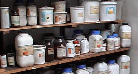 Laboratory waste