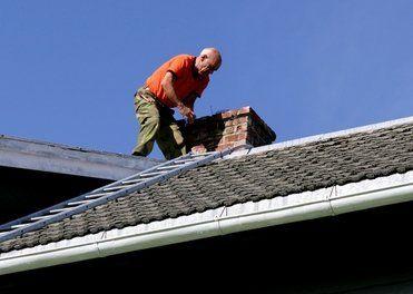 chimney repair man