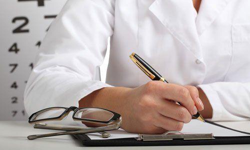 optician prescribing