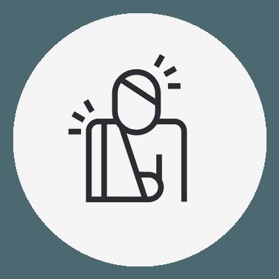 injured icon