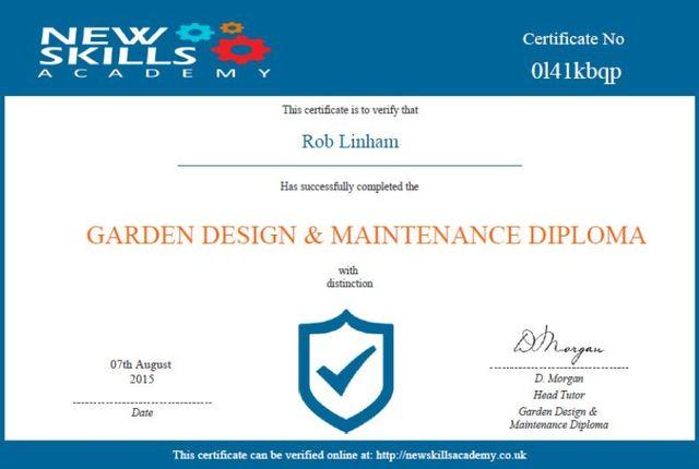 Garden patio design, RML Garden Services, Winchester