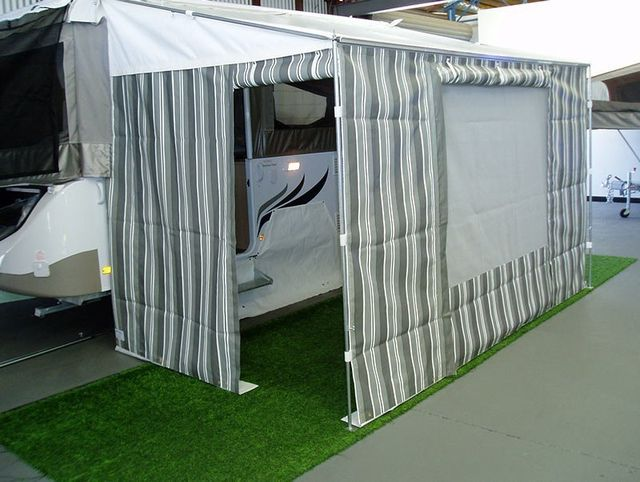 Wilfords bag awning walls