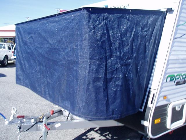 Wilfords shade cloth bed end protection