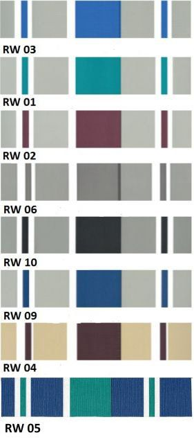Wilfords colour swatches