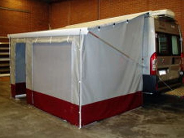Wilfords flamma awning wall