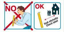 un disegno che spiega i comportamenti da seguire e le cose da non fare quando si ha a che fare con i bengala