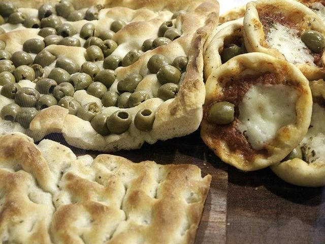 Pizzette, focacce, pasticceria salata,