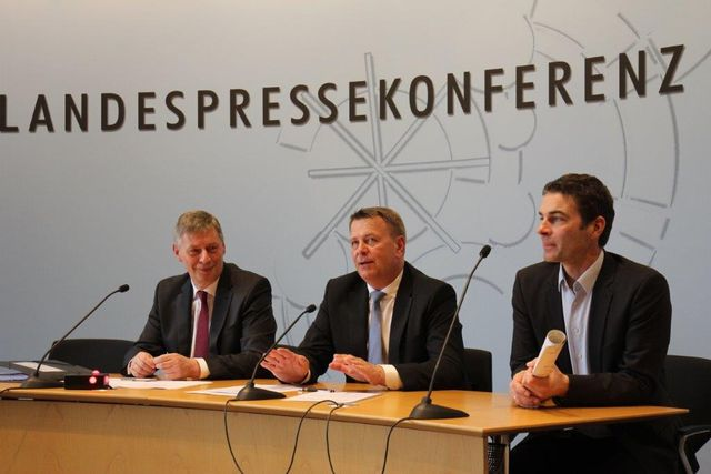 Pressekonferenz Christof Rasche und Bodo Löttgen