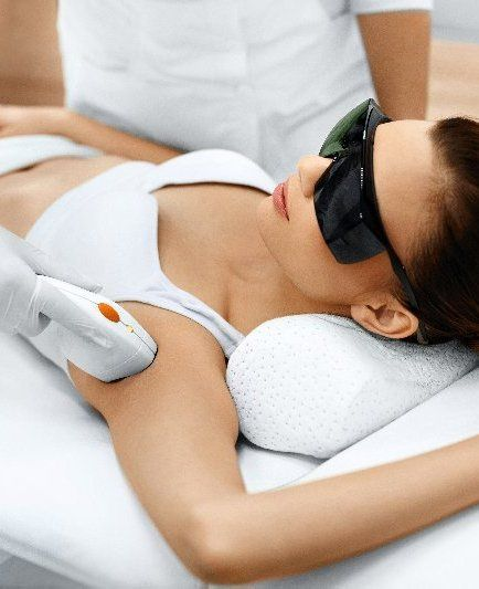 Laser hair removal picture