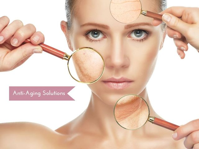 Anti Aging Lady Face