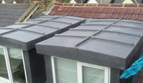 Some of our rubber bonded roofing