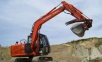 Earthmoving contractor on location in Bay of Plenty