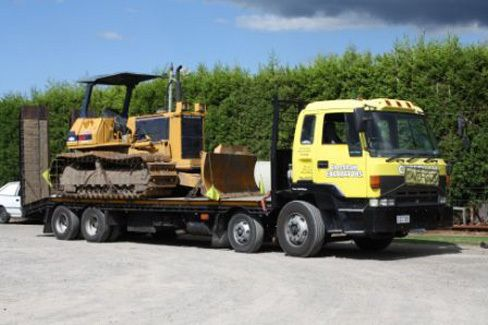 machinery for earthmoving services in the Bay of Plenty