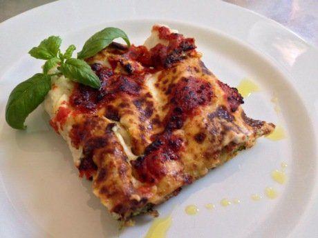 Lasagna al forno gratinata