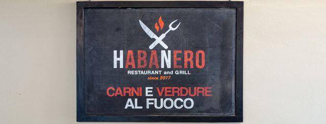 insegna ristorante HABANERO