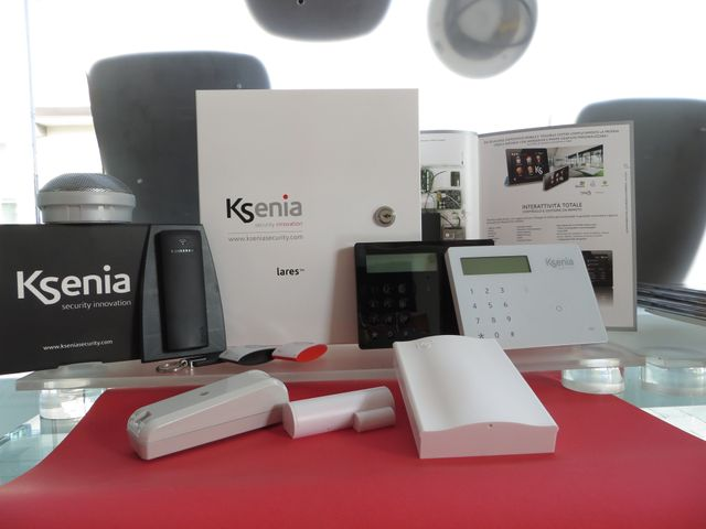 sistema di sicurezza Ksenia